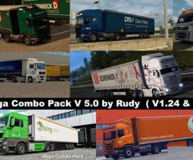 The Mega Combo Pack V5 ETS2 v1.24 & v1.25