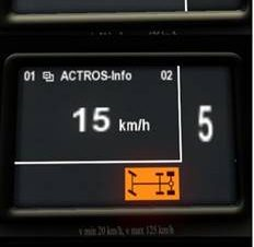 Mercedes Actros MP3 Dashboard Computer