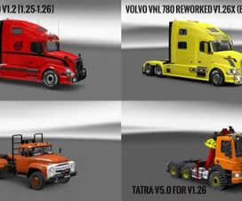 Pack 10.4 compt. Trucks