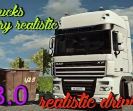 Realistic Driving and Physics for all Trucks v3