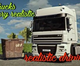Realistic driving and physics for all trucks