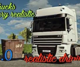 Realistic driving and physics for all trucks v2