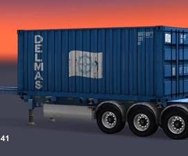 Trailer Container Delmas