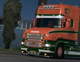 Volt skin for Scania T
