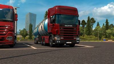 Scania 4 Series Straight 6 Stock Sound