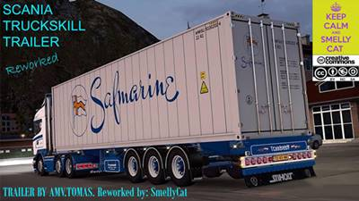 Scania Truckskill Trailer Reworked 1.24 to 1.26