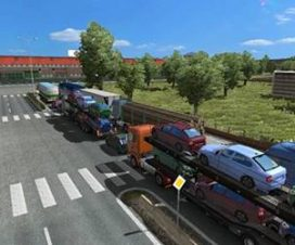 Traffic density and speedlimits ETS2 1.27