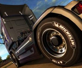 WHITE MICHELIN TIRES FOR 50K WHEELS PACK v2