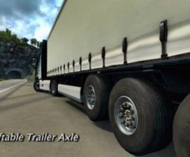 liftable trailer axle