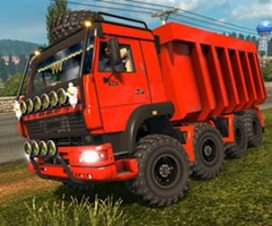 KamaZ 6460 [MonsteR ChassiS 8×8]
