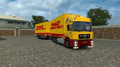 Man F2000 with Trailer 1.26