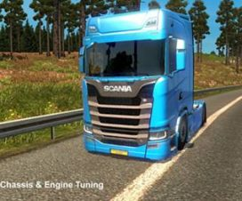 Scania S580 Chassis and Engine Tuning