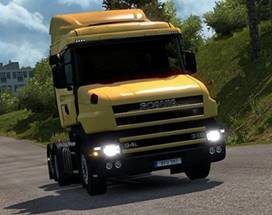 Scania T4 series addon