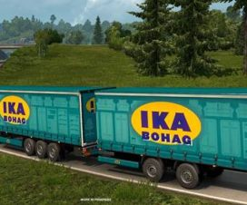 ETS2 Double Trailers
