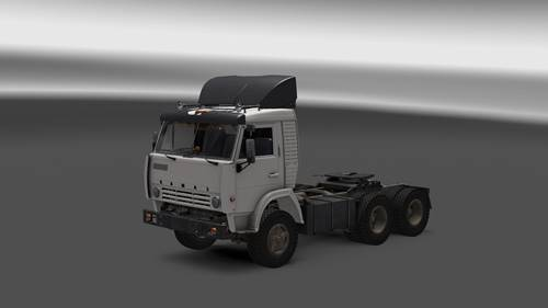 KAMAZ 5410 + Trailers only ETS2 1.27
