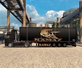 Kamaz skins Trailer by Jim Karra 1.27