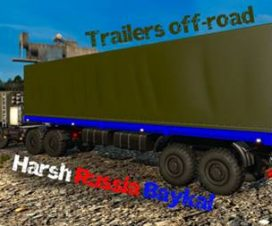 Off-road trailers for Harsh Russian (1.27)