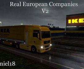 Real European Companies (by Tamiel18) v2.3