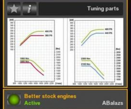 Better Stock Engines ETS2 1.27