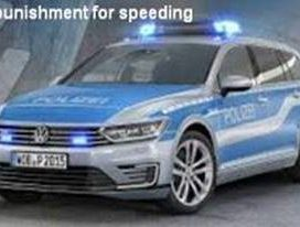 No punishement from Police Cars for speeding