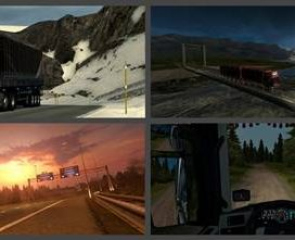 ProMods 2.16 + RusMap 1.7.2 Road Connection