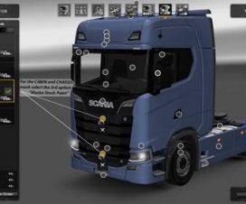 Real V8 Style for Scania S730