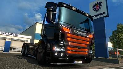 Scania P Modifications ETS2 1.27