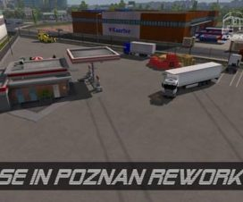BASE in poznan ets2 1.29