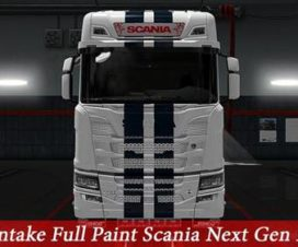 Front Intake Paint Scania 2016
