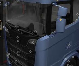 Scania Next Gen Mirror Full Paint