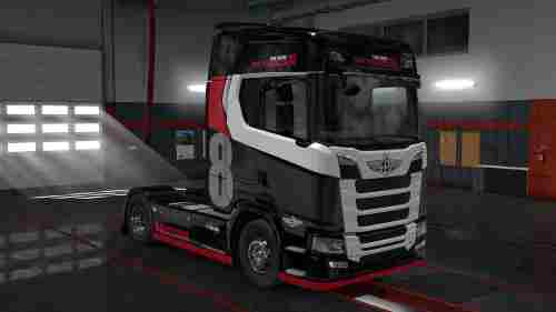 Scania Next Gen S&R The New Colt Sky Racer Skin