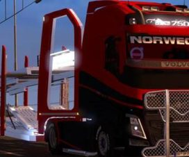 Volvo Car Carrier Autotransporter Mod 1.28
