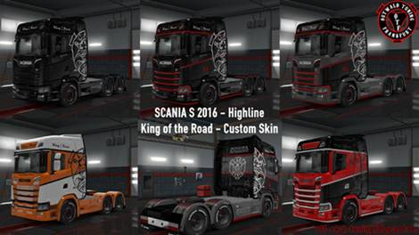 Scania S King of the Road Custom Skin