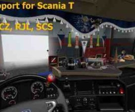 DLC Support for Scania T by RJL