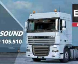 Real Sound DAF XF 105.510 v1.5 EVR