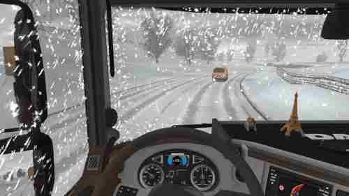 Seasonal Add-on for Realistic Graphics Mod 1 30   ETS2 Mods