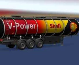 Shell Fuel Trailer