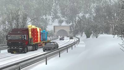 Winter Add-On for Realistic Graphics Mod release