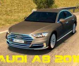 Audi A8 Long 2018 + Interior (Reworked) 1.30