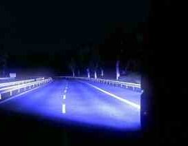 Blue Xenon Lights Effect MarcMods 1.30