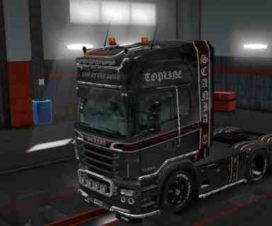Combo Skin Pack Carbon for Scania RS by RJL v5.7