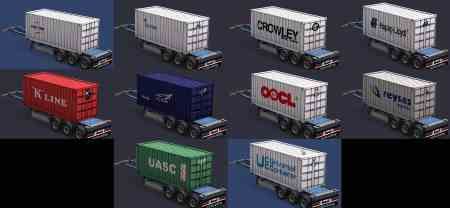 Containers of real companies All versions