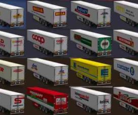European supermarket trailers All versions
