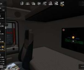 Interior Lights & Emblems v3.1 ETS2 1.28-1.30