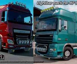 Kelsa Lightbars for DAF XF 105 & 106 v1.4 1.30