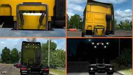 Kelsa Lightbars for DAF XF 105 & 106