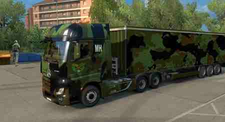 MH Military Trucks and Trailers