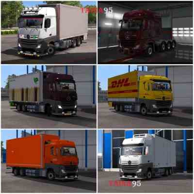 Mercedes Actros MP4 v1.20