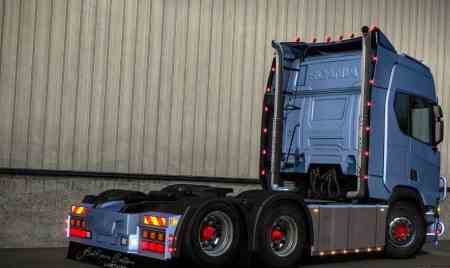 Mod Addon Scania next generation