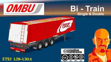 OMBU BI-TRAIN (SINGLE & DOUBLE) ETS2